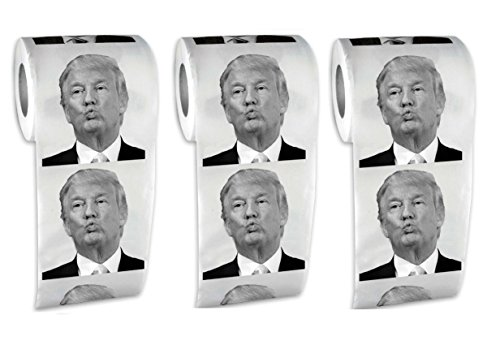 Donald Trump Toilet Paper 2 Pack