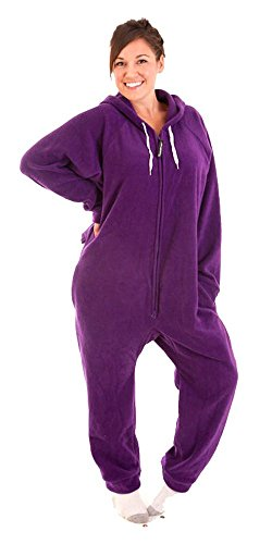 Forever Lazy Adult Onesie - Purple People Sleeper - XS -