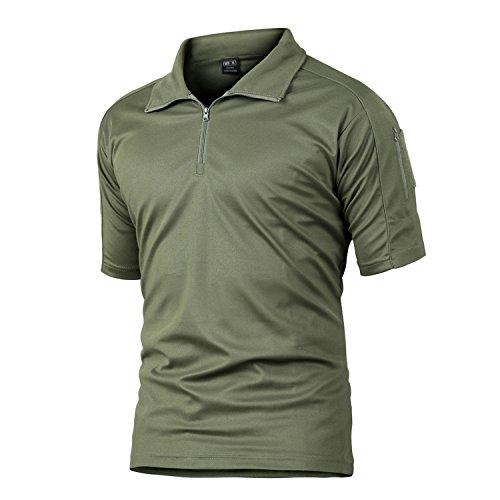 MAGCOMSEN Tactical Combat Battle Top Quick Drying Multiuse T-Shirt Army Green/Khaki/Black