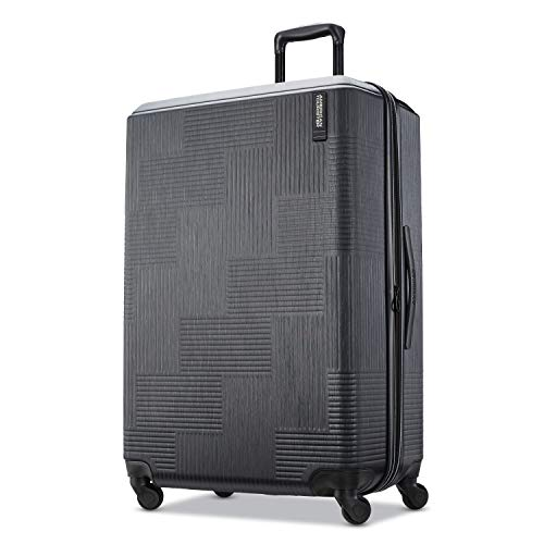 American Tourister Checked-Large, Jet Black