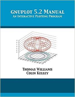 gnuplot 5.2 Manual: An Interactive Plotting Program: Amazon.es: Williams, Thomas, Kelley, Colin, Crawford, Dick: Libros en idiomas extranjeros