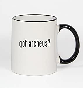 got archeus? - 11oz Black Handle Coffee Mug