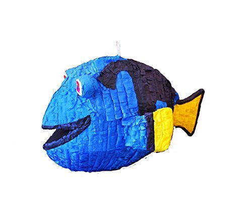 Aztec Imports, Inc. Blue Fish Pinata ()