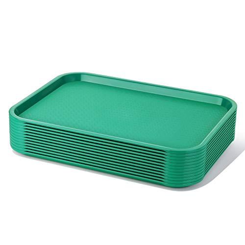 Green Fast Food Tray - 3