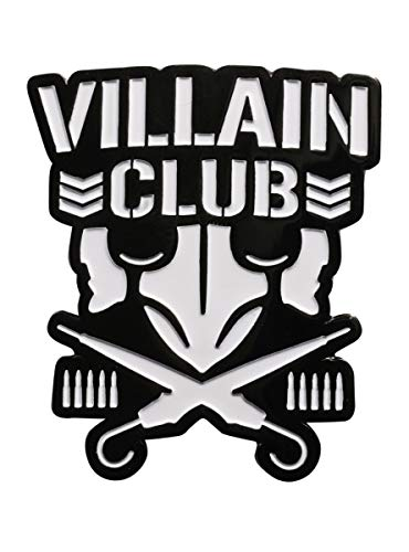 New Japan Pro-Wrestling Bullet Club Villain Club Logo Enamel Pin (Japan Figural)