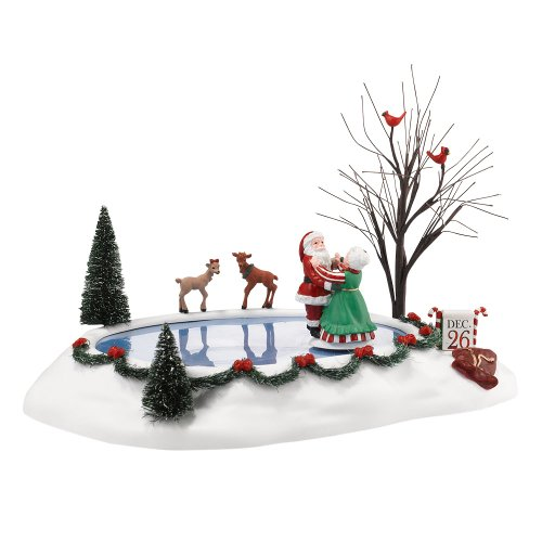 (Department 56 Accessories for Villages Christmas Waltz Animated Accessory Figurine, 2.95 inch)