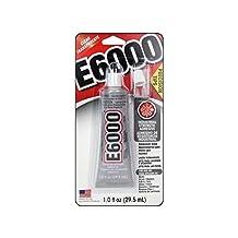 E6000 Industrial Adhesive Medium Viscosity Clear Precision Tip 1 oz.