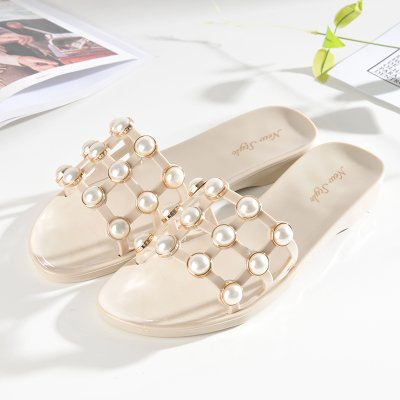 Estive Da Langmotai pantofole scarpe Scarpe Pantofole 3 Spiaggia Femmina Pearl Pantofole nEY1YrxFq