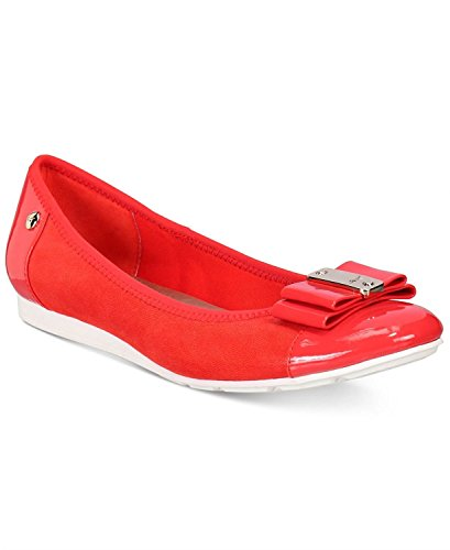 Anne Klein Womens Aricia Closed Toe Slide Flats, Meor, Size 6.0