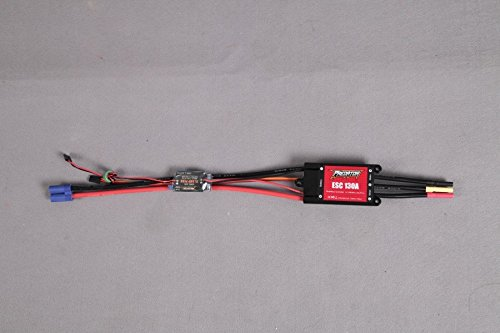 Predator ESC 130A with 10A UBEC Brushless Speed Controller For RC Airplane (XT90 plug, 250mm Cable, support 6S Battery)