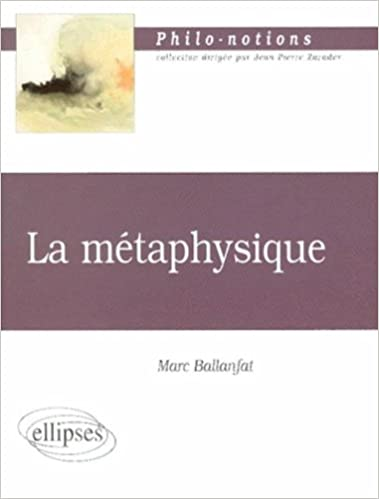 Livre La métaphysique pdf, epub