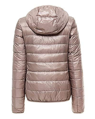 ZiXing Khaki Puffer Packable Jacket Hooded Coat Outdoor Ultra Lightweight Down Women's Warm aF7Rrwa