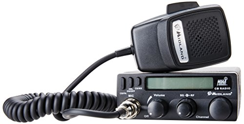 Midland 1001LWX 40 Channel Mobile CB with ANL, RF Gain, PA, and Weather Scan (Cb Radio Pa)