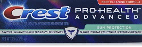 Crest Pro-Health Advanced Toothpaste, Gum Protection 3.5 oz (Pack of 2)