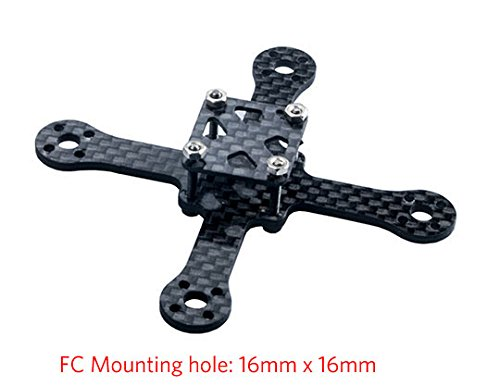 Crazepony Carbon Quadcopter Support Brushless