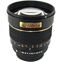 Rokinon 85M-P 85mm f/1.4 Aspherical Lens for Pentax (Black) Review Review Image