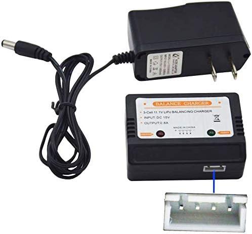 Cargador de pared con 11.1V XH-4P Plug Balance Car, 11.1 3S