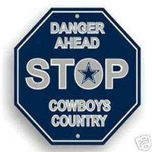 NFL Dallas Cowboys Stop Sign - Stores Dallas Sports