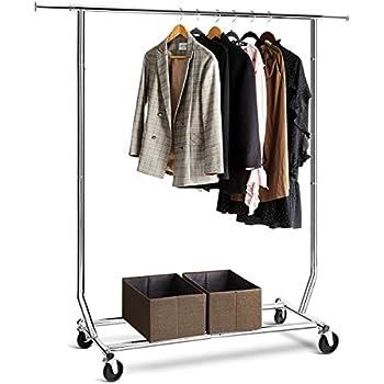 Amazon Com Tomcare Garment Rack 200 220lb Capacity