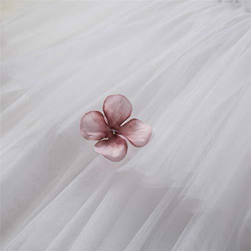 Para Largo Blanco Años nbsp;tutú Bordadas Paolian Meses 5 Floral De Fiesta Tirantes Ceremonia Novia vestido Verano 12 Princesa Vestido Boda Niña Bebé Tul 2019 wOBOIx4g