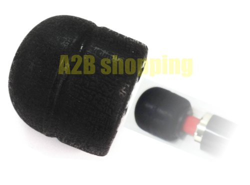 BLACK REPLACEMENT HEAD CAP / FOR Magic Wand Massager Also Fits Hitachi