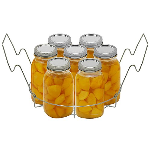 Victorio Stainless Steel Canning- Flat Rack VKP1056 Bundled with Jar Dividers Rack VKP1057 by Victorio Kitchen Products (Image #4)