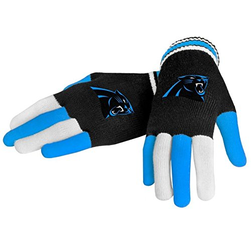 football gloves carolina panthers - 1