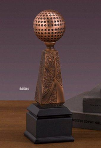 Bronze Finish Golf Ball Statue Award or ()