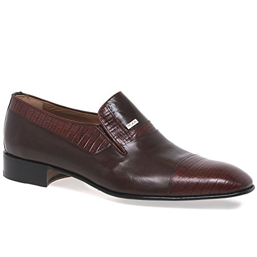 Milan Marrone Paco On Elche Ss16 Leather Slip qOZP6ZCd