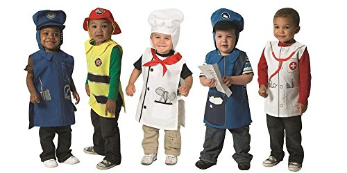 Community Helper Tunics - Set of (Mailman Costume For Kids)