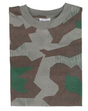 Mil-Tec Splinter Camo T-Shirt (German Camouflage)