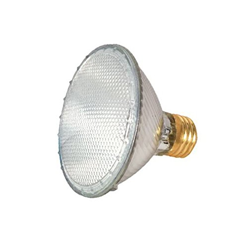 15 Pack - Satco 60 watt; Halogen; PAR30; Clear; 1500 Average rated hours; 1090 Lumens; Medium base; 120 volts - S2237 by Satco