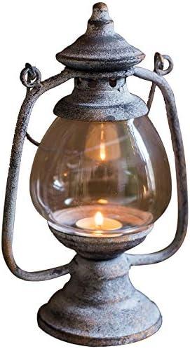 Shumo Paralume per Candeliere nel Metallo Antico Fatto un