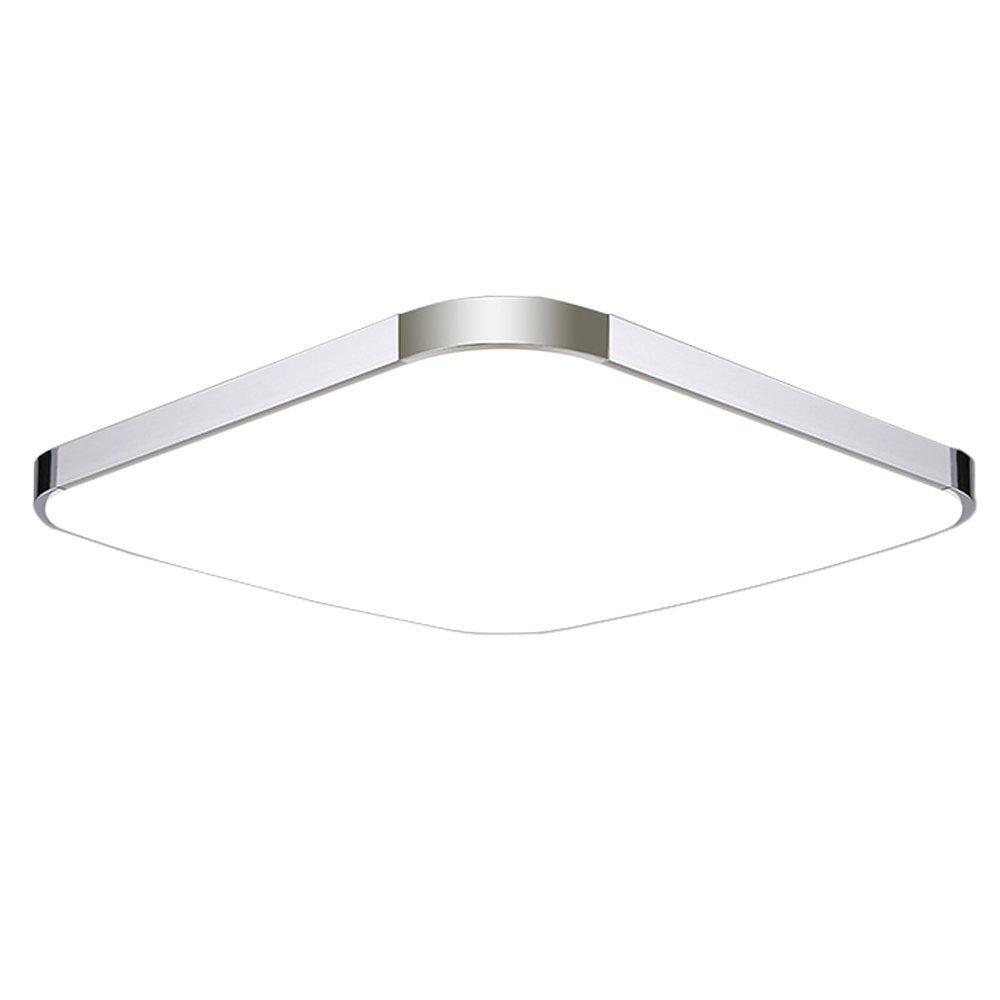 MCTECH 12W Kaltweiss LED Deckenleuchte Modern Deckenlampe Flur Wohnzimmer Lampe Schlafzimmer Amazonde Beleuchtung