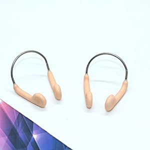 2Pcs Swimming Competition Nose Clip for Adults,Swimming Beginner ,Swimming Accessories