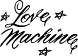 toolbox love machine - Love Machine Cheek and Chong Movie Vinyl Graphic Car Truck Windows Decal Sticker - Die cut vinyl decal for windows, cars, trucks, tool boxes, laptops, MacBook - virtually any hard, smooth surface