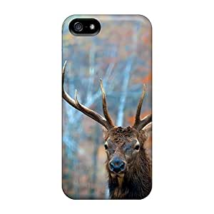 Premium Protection Forest Stag Cases Covers For Iphone 5/5s- Retail Packaging