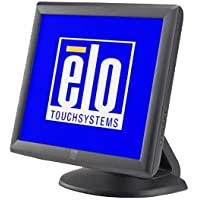 Elo 1715L LCD Touchscreen Monitor - 17 - 5-wire Resistive - 1280 x 1024 - 5:4 - Dark Gray - DUAL SER/USB *Power Brick sold separately