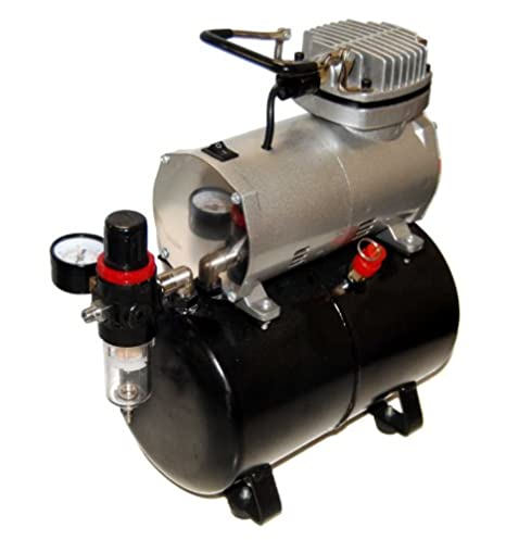 MASTER Airbrush SB88 Pro Set with TC-20 T Air Compressor with Tank by Master Airbrush: Amazon.es: Hogar