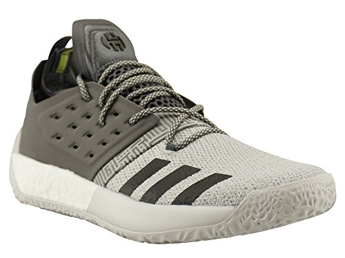 adidas Harden Vol. 2, Zapatos de Baloncesto Para Hombre, Gris (GREFIV/Trgrme/Grefou GREFIV/Trgrme/Grefou), 44 2/3 EU