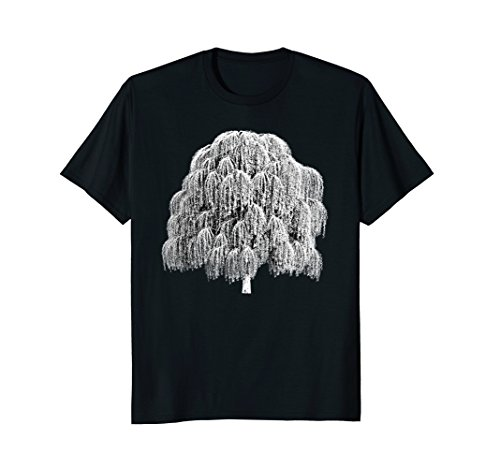 Weeping Willow Tree T-shirt Arbor Day Shirts ()