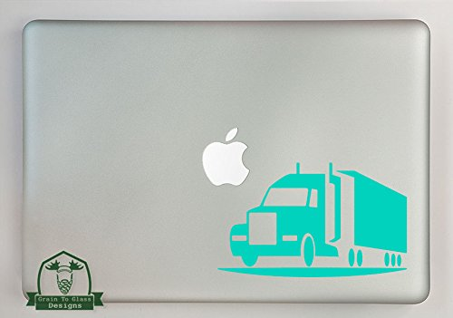 Grain To Glass Designs Semi Truck Vinyl Decal Sized To Fit A 11