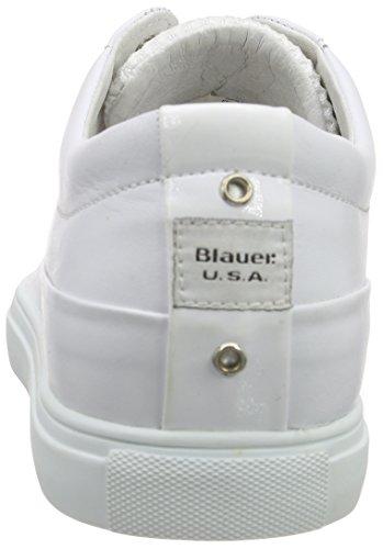 Blauer USA 6scuptoe/Lea - Zapatillas Hombre Blanco - blanco (blanco)