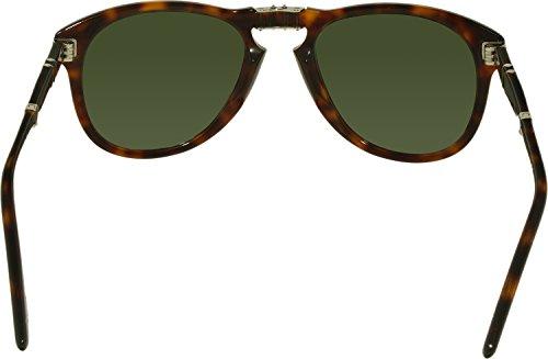 Sol Gafas Persol 57 Verde Mod 24 0714 de qvgv4E
