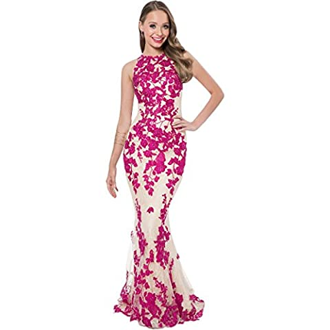 Terani Couture Embroidered Sequined Formal Dress Pink 0 - Couture Formal Dresses