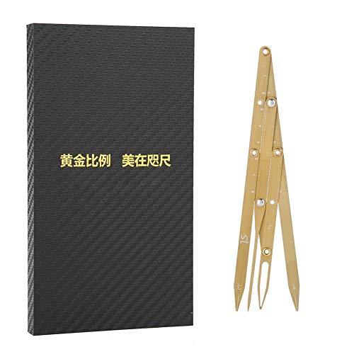 Eyebrow Measurement Sliding Eyebrow Ruler Stainless Steel Durable Eyebrow Make up Tool Eyebrow ()