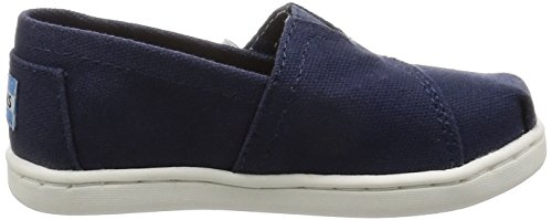 Toms Youth / Tiny Classics 2.0 Slip-on Shoes Tela Blu Scuro