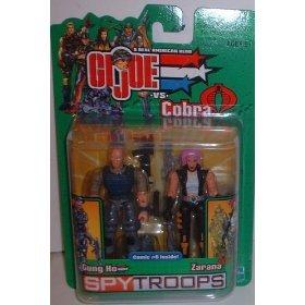 Gi Joe 3 3/4 Gung Ho & Zarana 2 Pack Spytroops for sale  Delivered anywhere in USA