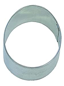 """R&M Easter Egg 2.5"""" Cookie Cutter in Durable, Economical, Tinplated Steel"""