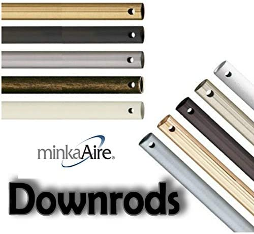 Minka-Aire DR512-44, 12 Downrod, White